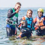 Kurs kitesurfingu na obozie na Helu