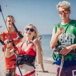 Zajęcia kitesurfingowe na obozie