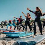 Zajęcia surfing na obozie w Chałupach