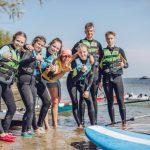 Kurs windsurfingowy na obozie