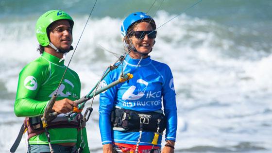 Instruktor kitesurfingu IKO