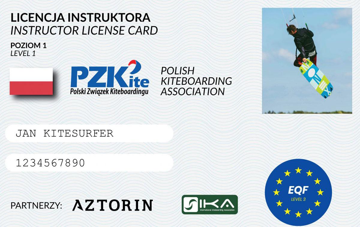 Licencja Instruktora Polskiego Związku Kiteboardingu